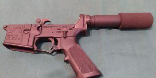 AR15 lower receiver Aero Precision tactical SBR pistol configuration